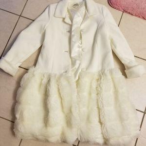 Helena fur coat size 10 girls niemen marcus